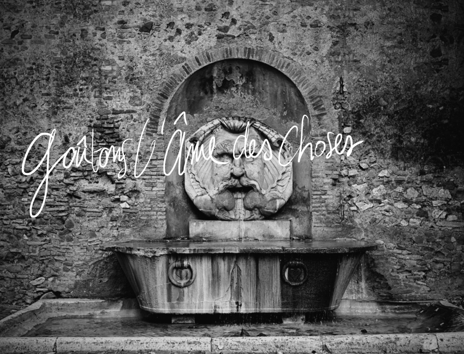 Illustration d'une fontaine